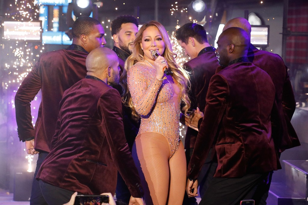 NEW YORK, NY - DECEMBER 31:  Mariah Carey performs during Dick Clark's New Year's Rockin' Eve at Times Square on December 31, 2016 in New York City.  (Photo by Taylor Hill/FilmMagic)